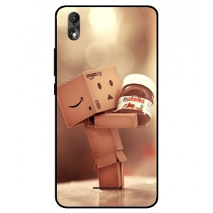 Coque De Protection Amazon Nutella Pour Wiko Lenny 4 Plus