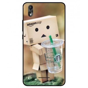 Coque De Protection Amazon Starbucks Pour Wiko Lenny 4 Plus