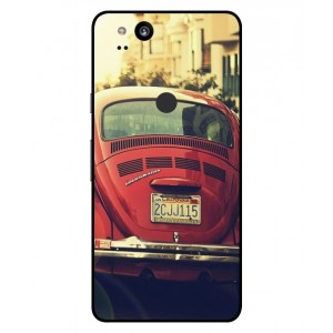 Coque De Protection Voiture Beetle Vintage Google Pixel 2