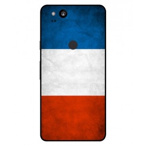 Coque De Protection Drapeau De La France Pour Google Pixel 2 XL