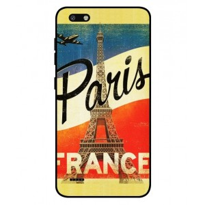 Coque De Protection Paris Vintage Pour ZTE Blade Force