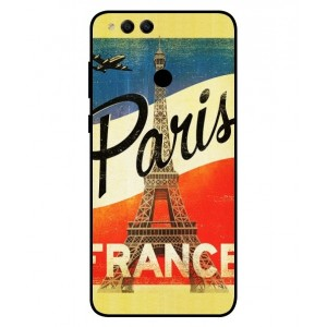 Coque De Protection Paris Vintage Pour Huawei Honor 7X