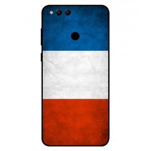 Coque De Protection Drapeau De La France Pour Huawei Honor 7X