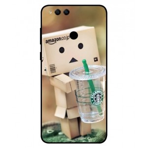 Coque De Protection Amazon Starbucks Pour Huawei Honor 7X