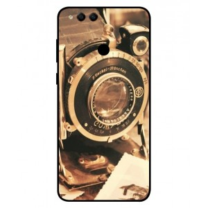 Coque De Protection Appareil Photo Vintage Pour Huawei Honor 7X