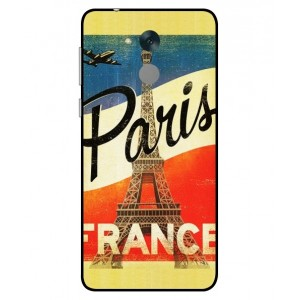 Coque De Protection Paris Vintage Pour Huawei Honor 6C Pro