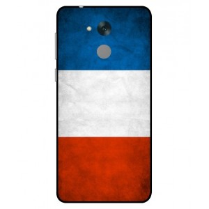 Coque De Protection Drapeau De La France Pour Huawei Honor 6C Pro