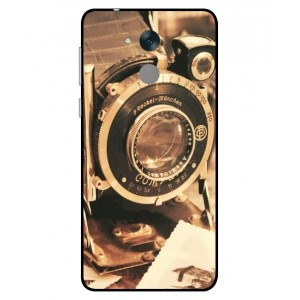 Coque De Protection Appareil Photo Vintage Pour Huawei Honor 6C Pro