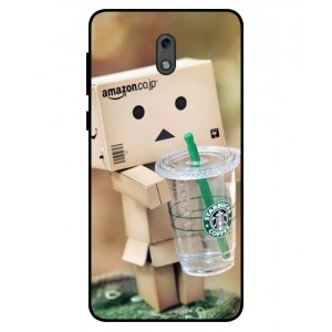Coque De Protection Amazon Starbucks Pour Nokia 2