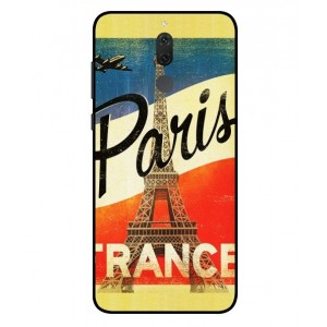 Coque De Protection Paris Vintage Pour Huawei Mate 10 Lite