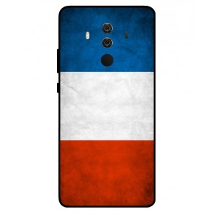 Coque De Protection Drapeau De La France Pour Huawei Mate 10 Porsche Design