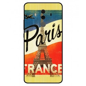 Coque De Protection Paris Vintage Pour Huawei Mate 10 Pro