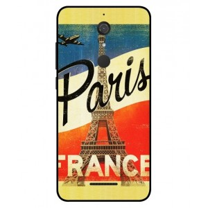 Coque De Protection Paris Vintage Pour Wiko View