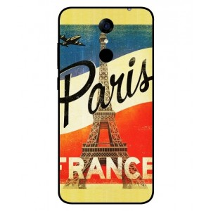 Coque De Protection Paris Vintage Pour Cubot Note Plus