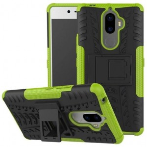 Protection Antichoc Type Otterbox Vert Pour Lenovo K8 Note