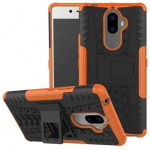 Protection Antichoc Type Otterbox Orange Pour Lenovo K8 Note