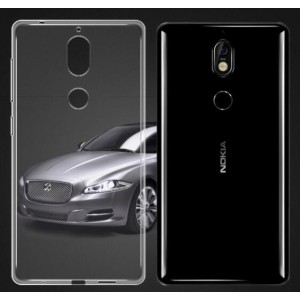 Coque De Protection En Silicone Transparent Pour Nokia 7