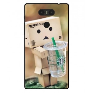 Coque De Protection Amazon Starbucks Pour Archos Sense 55S