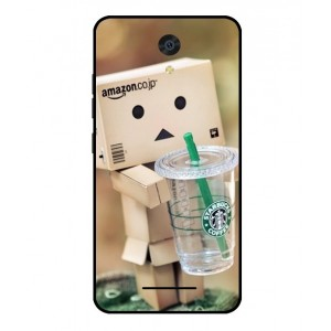 Coque De Protection Amazon Starbucks Pour Archos 50F Neon