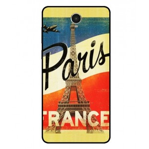 Coque De Protection Paris Vintage Pour Archos 60 Platinum
