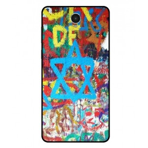 Coque De Protection Graffiti Tel-Aviv Pour Archos 60 Platinum