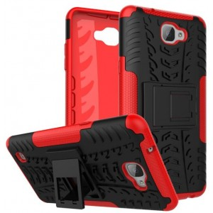 Protection Antichoc Type Otterbox Rouge Pour LG X5