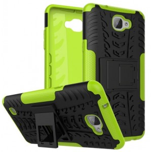 Protection Antichoc Type Otterbox Vert Pour LG X5