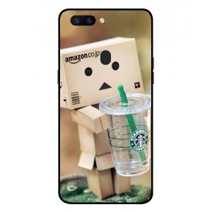 Coque De Protection Amazon Starbucks Pour Oppo R11s