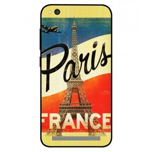 Coque De Protection Paris Vintage Pour Xiaomi Redmi 5a