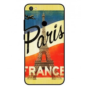 Coque De Protection Paris Vintage Pour Xiaomi Redmi Y1