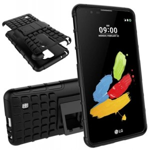 Protection Solide Type Otterbox Noir Pour LG Stylo 2