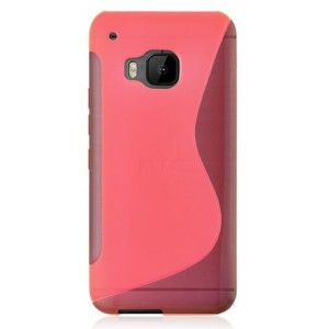Coque De Protection En Silicone Rose Pour HTC One S9