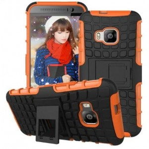 Protection Antichoc Type Otterbox Orange Pour HTC One S9