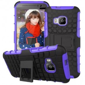 Protection Antichoc Type Otterbox Violet Pour HTC One S9