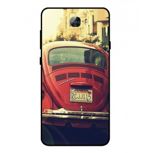Coque De Protection Voiture Beetle Vintage Huawei Y6II Compact