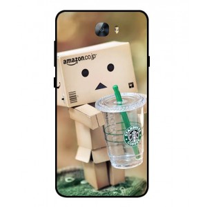 Coque De Protection Amazon Starbucks Pour Huawei Y6II Compact