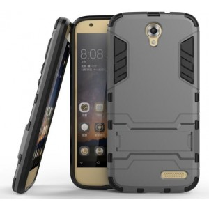 Protection Solide Type Otterbox Noir Pour ZTE Grand X 3