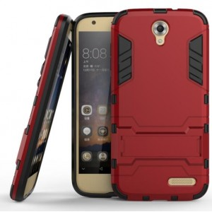 Protection Antichoc Type Otterbox Rouge Pour ZTE Grand X 3