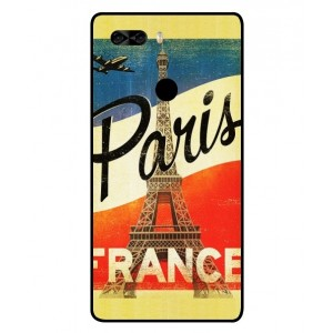Coque De Protection Paris Vintage Pour Archos Diamond Omega