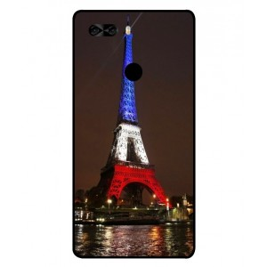 Coque De Protection Tour Eiffel Couleurs France Pour Archos Diamond Omega