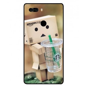 Coque De Protection Amazon Starbucks Pour Archos Diamond Omega