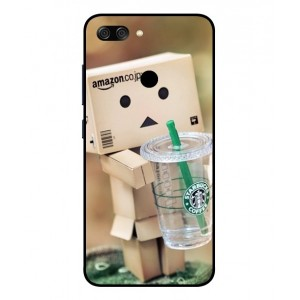 Coque De Protection Amazon Starbucks Pour Asus Zenfone Max Plus M1