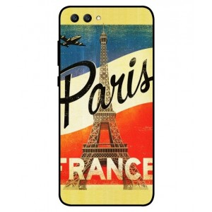 Coque De Protection Paris Vintage Pour Huawei Honor View 10