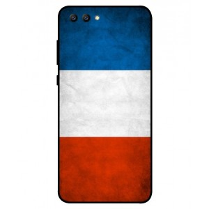 Coque De Protection Drapeau De La France Pour Huawei Honor View 10