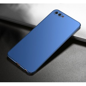 Coque De Protection Rigide Bleu Pour Huawei Honor View 10