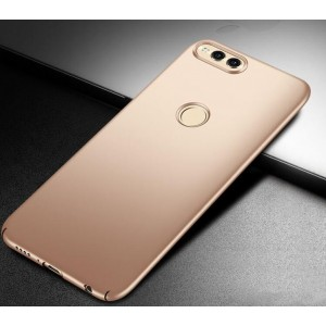 Coque De Protection Rigide Or Pour Huawei Honor 7X