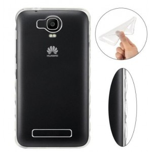 Coque De Protection En Silicone Transparent Pour Huawei Y3II
