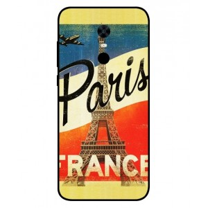 Coque De Protection Paris Vintage Pour Xiaomi Redmi 5 Plus