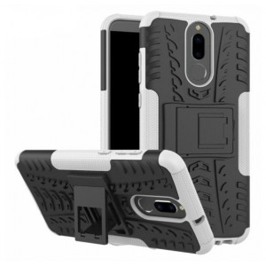 Protection Antichoc Type Otterbox Blanc Pour Huawei Mate 10 Lite