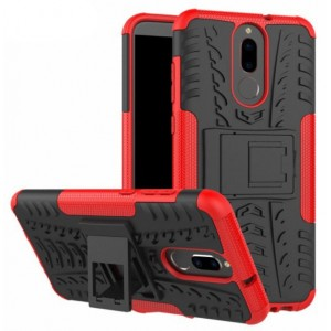 Protection Antichoc Type Otterbox Rouge Pour Huawei Mate 10 Lite
